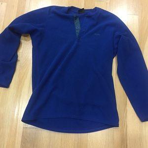 Patagonia Fleece capilene Blue Henley sz XS used